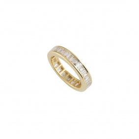 Yellow Gold Diamond Eternity Ring 1.35ct